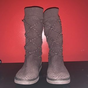 Brown Ugg Sweater Boots